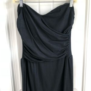 VS Brand Bra Top Strapless Dress - Black